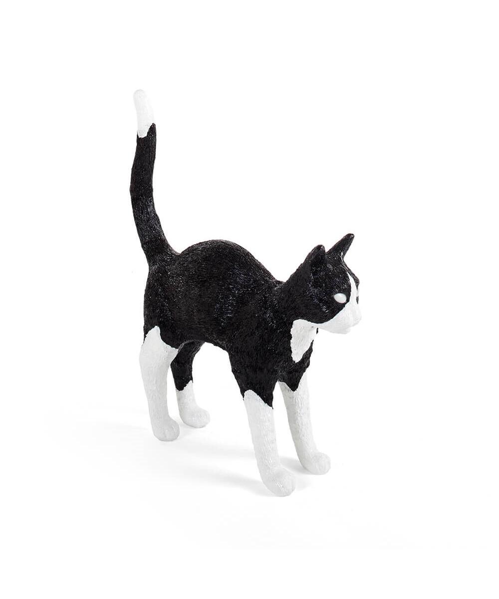 Jobby The Cat Bordlampe Sort/Hvid - Seletti