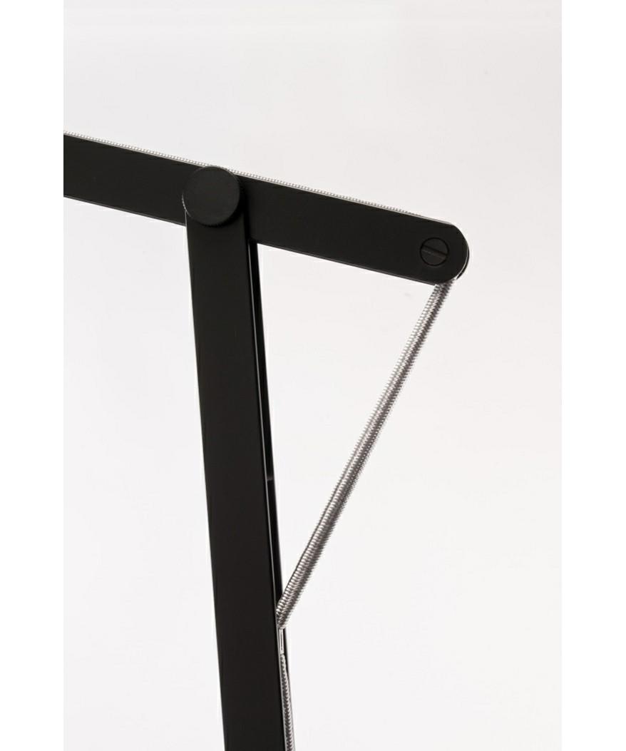 Billede af String XL Gulvlampe Sort/Sølv Elastik - Rotaliana