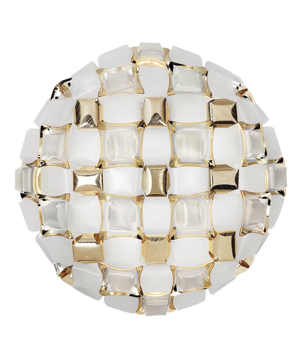 Mida Loftlampe/Væglampe Large White-Gold - Slamp