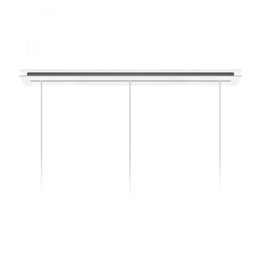 Rosone Multiple Linear Canopy Hvid 135 cm - Foscarini