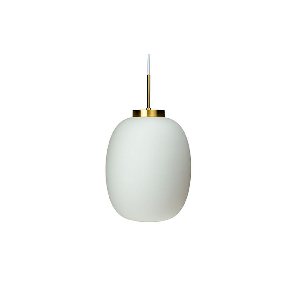 Image of   DL39 Pendel Opal/Brass - DybergLarsen