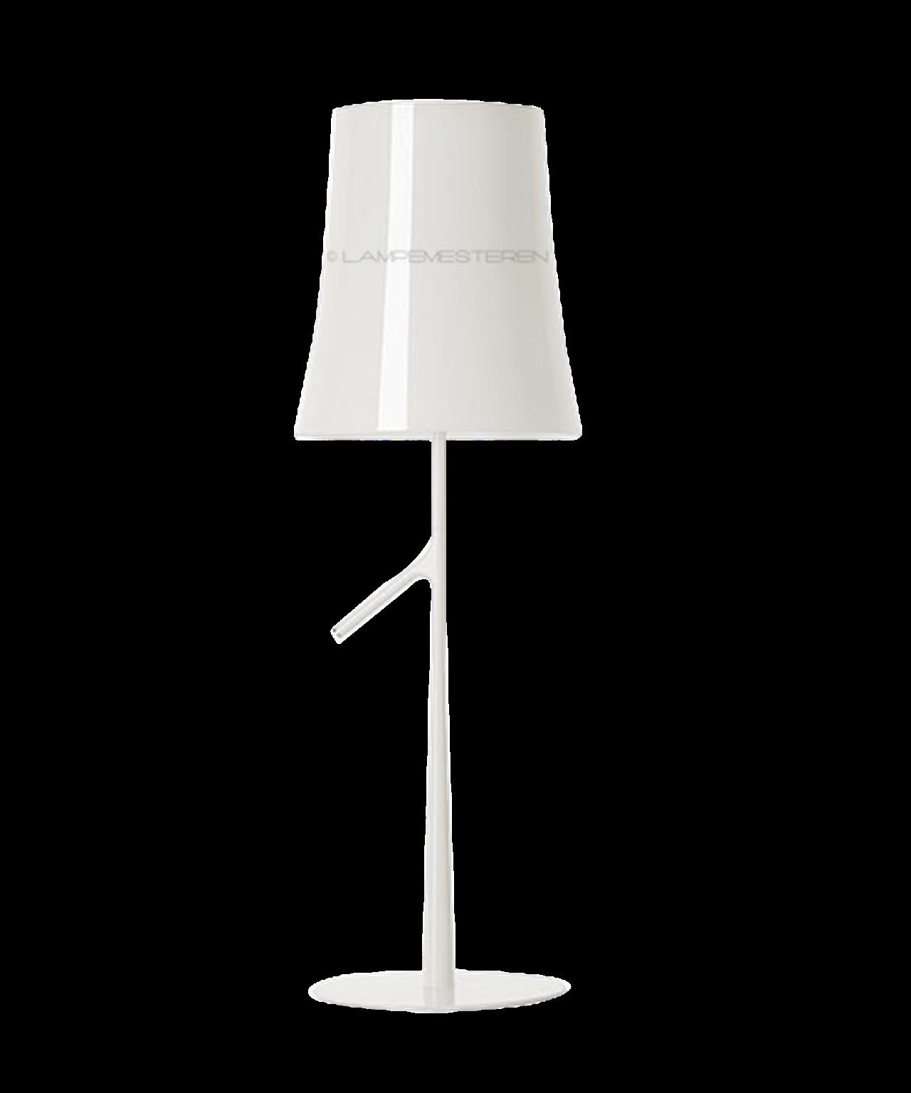 Image of   Birdie Grande Bordlampe m/Touch Dimmer Hvid - Foscarini