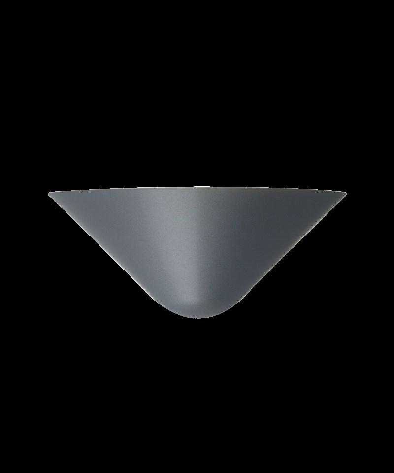 1/2 vip væglampe sort e14