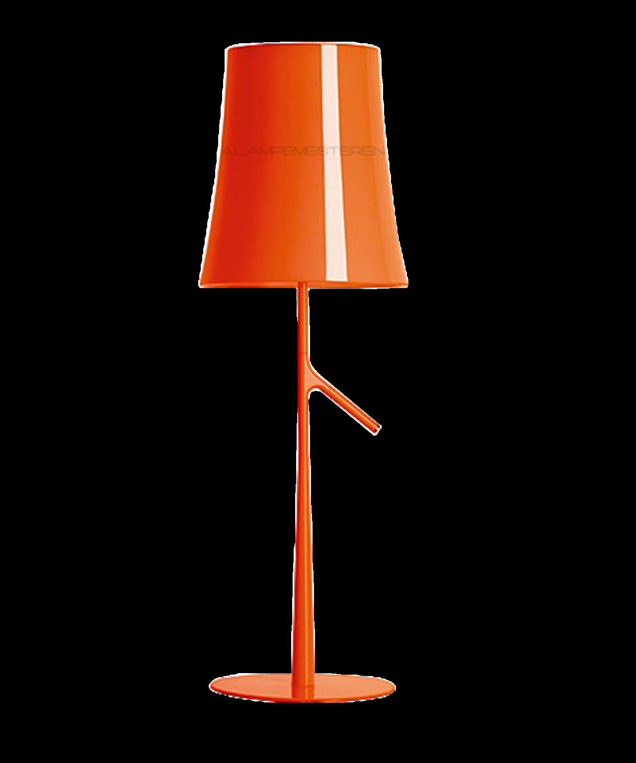 Image of   Birdie Piccola Bordlampe Orange u/Dimmer - Foscarini