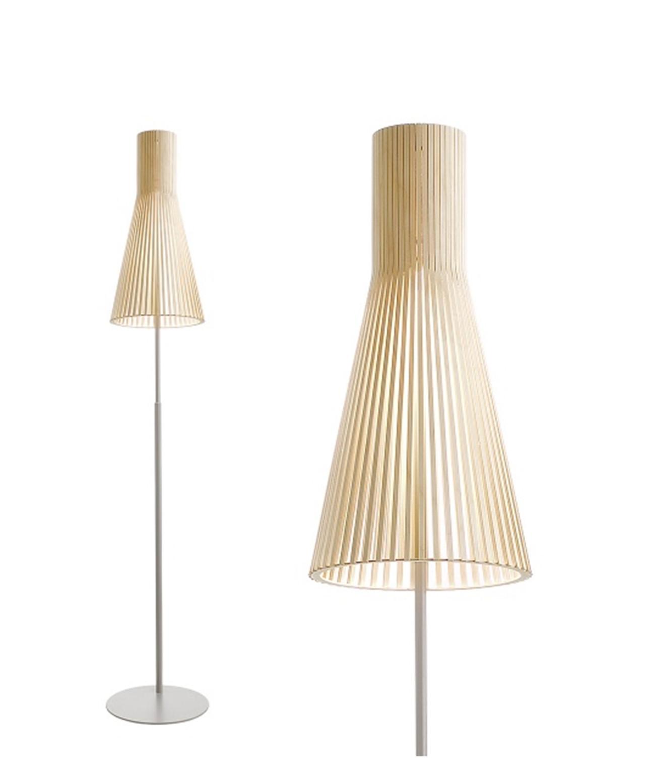 Secto 4210 stehleuchte birke secto for Design leuchten replica