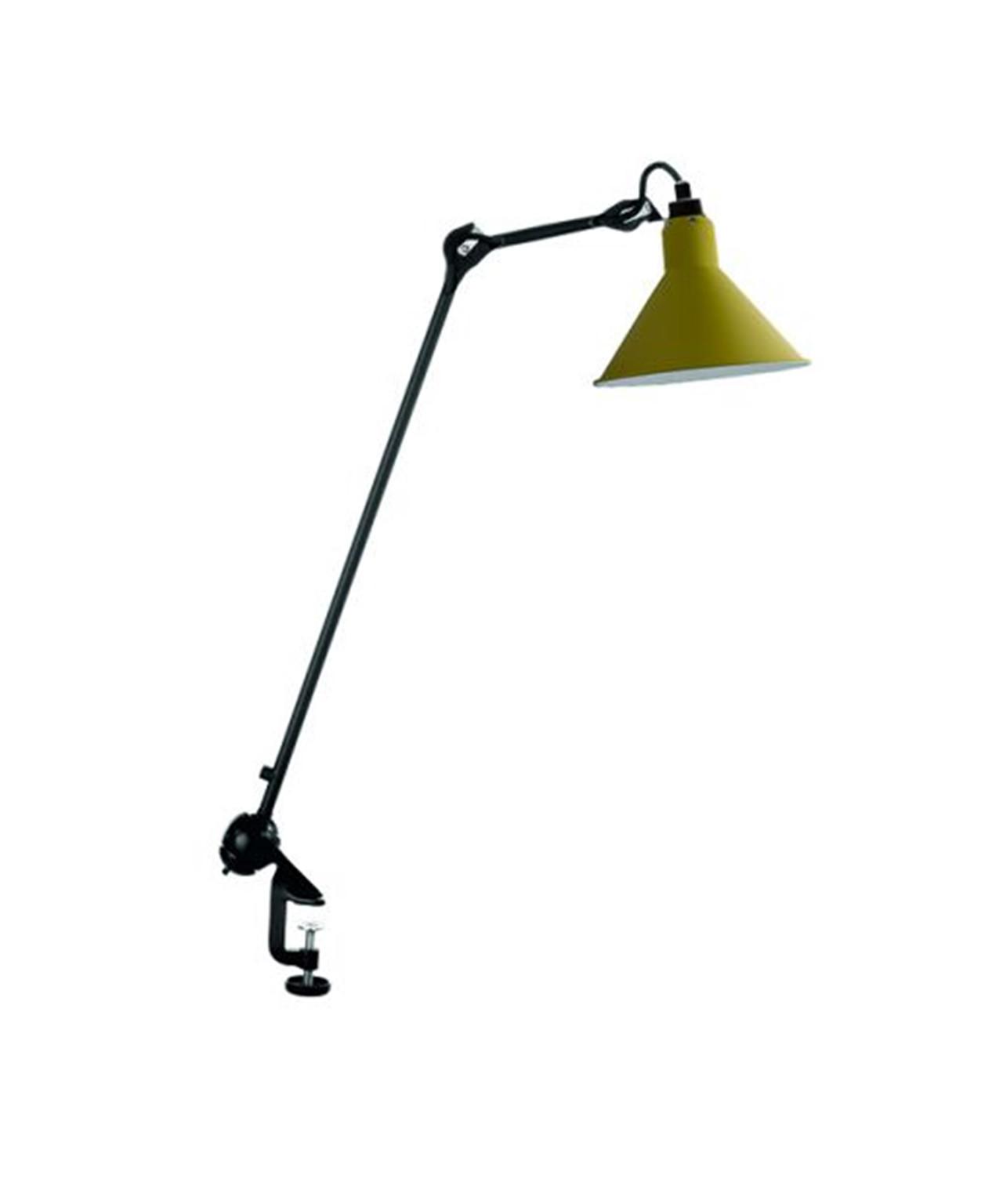 Image of   201 Bordlampe Sort/Gul - Lampe Gras