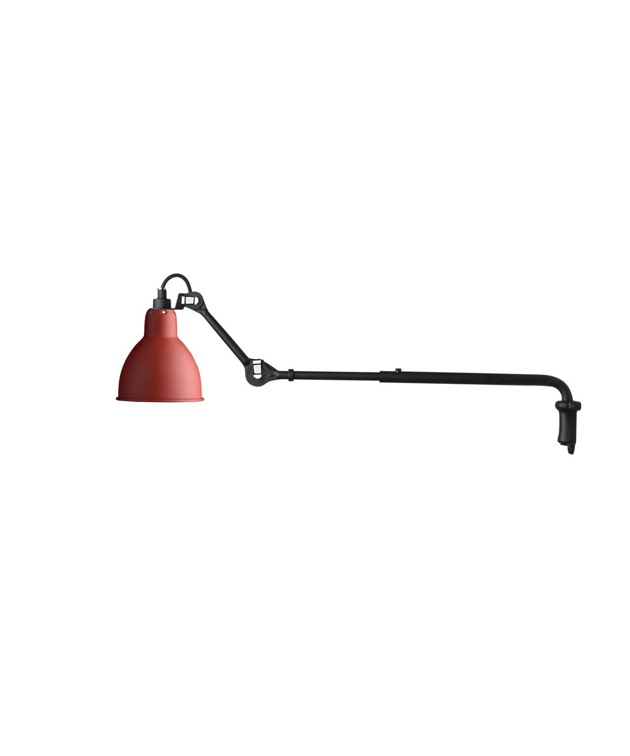 Image of   203 Væglampe Rød - Lampe Gras