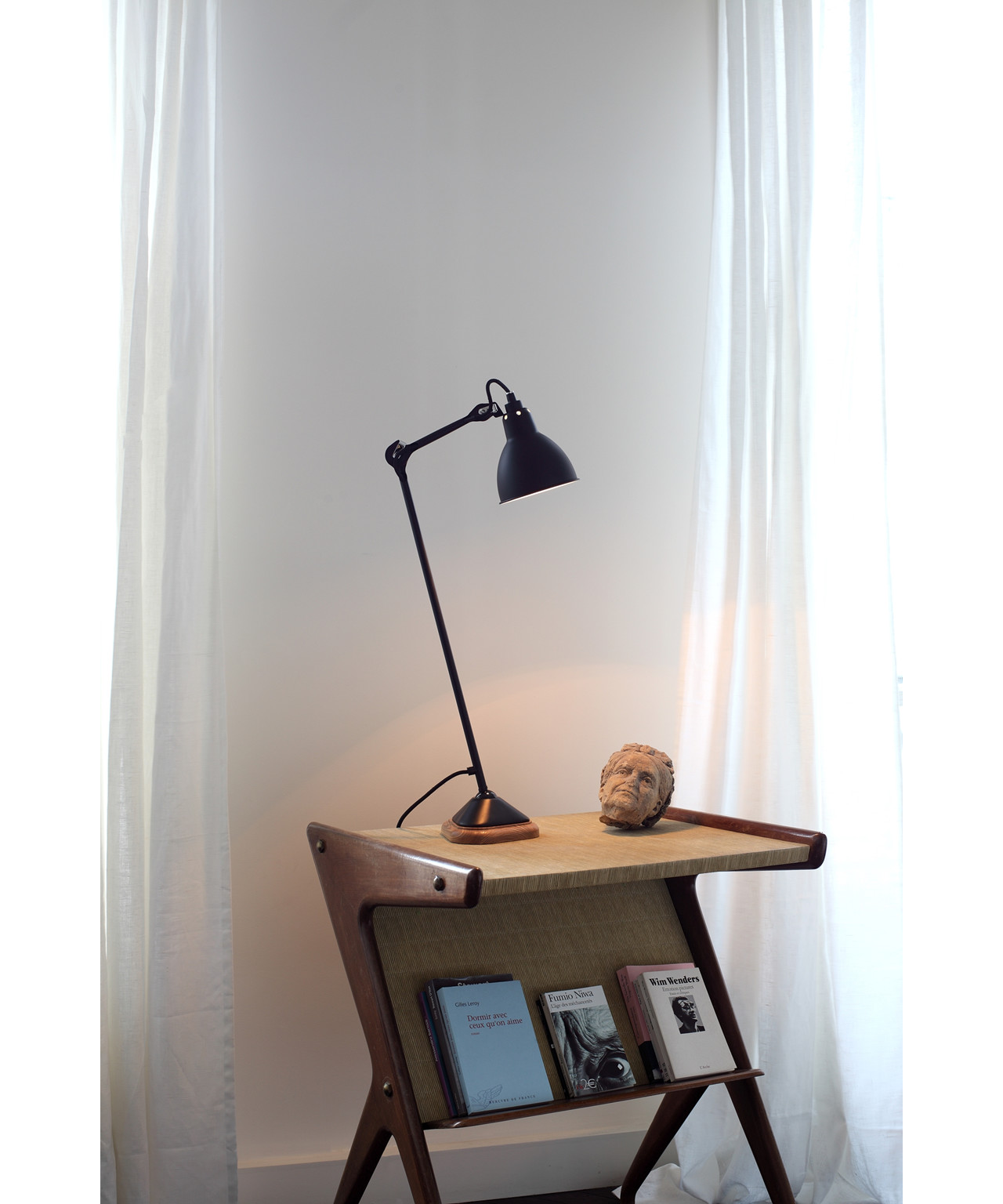 206 Bordlampe Sort - Lampe Gras