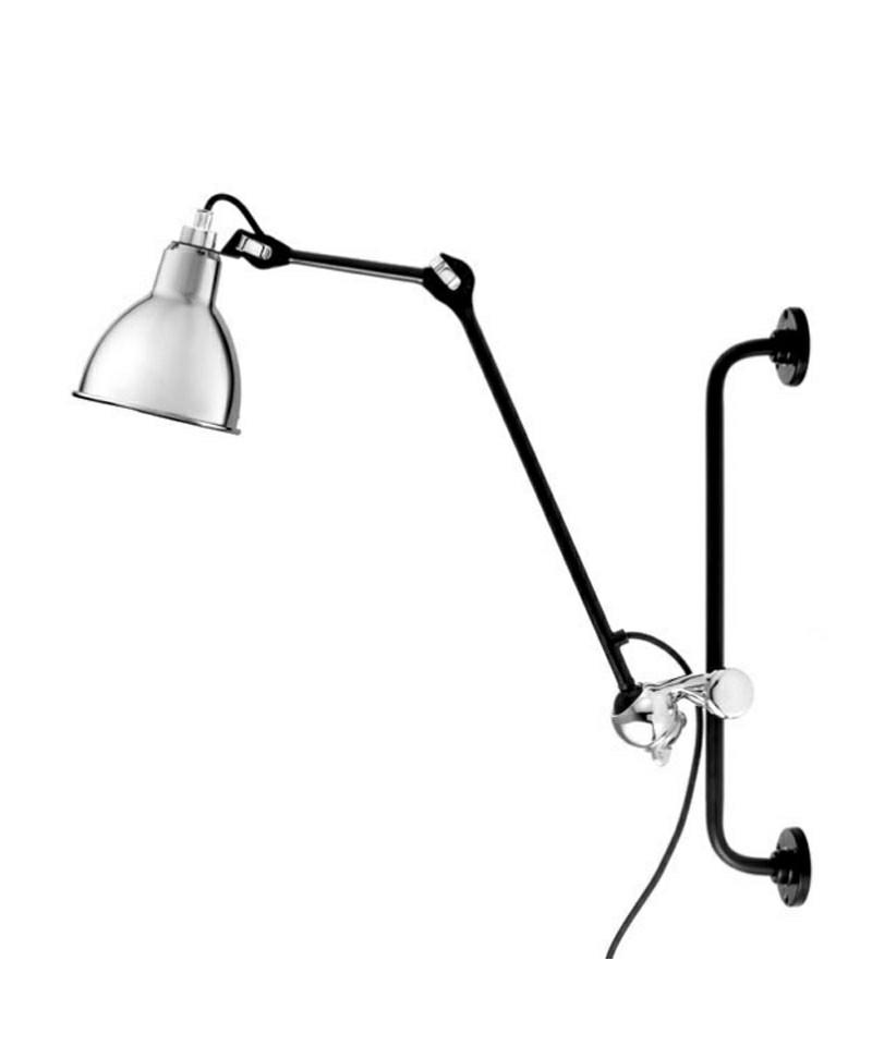 210 v glampe krom sort lampe gras. Black Bedroom Furniture Sets. Home Design Ideas