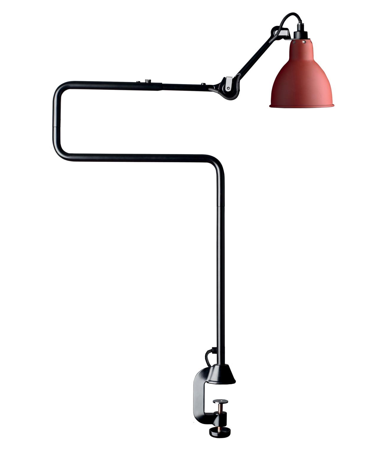 Image of   211-311 Bordlampe Rød - Lampe Gras
