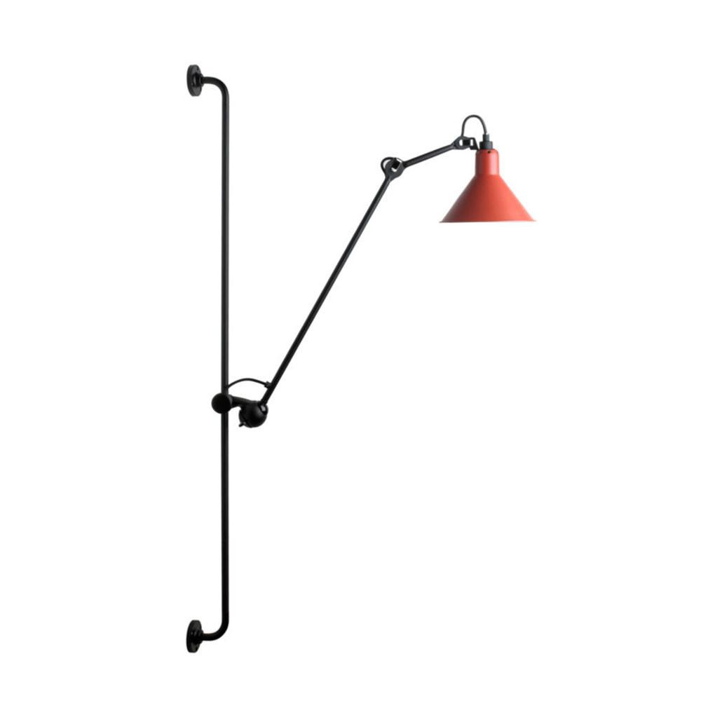Image of 214 Væglampe Rød - Lampe Gras (8200900081166)
