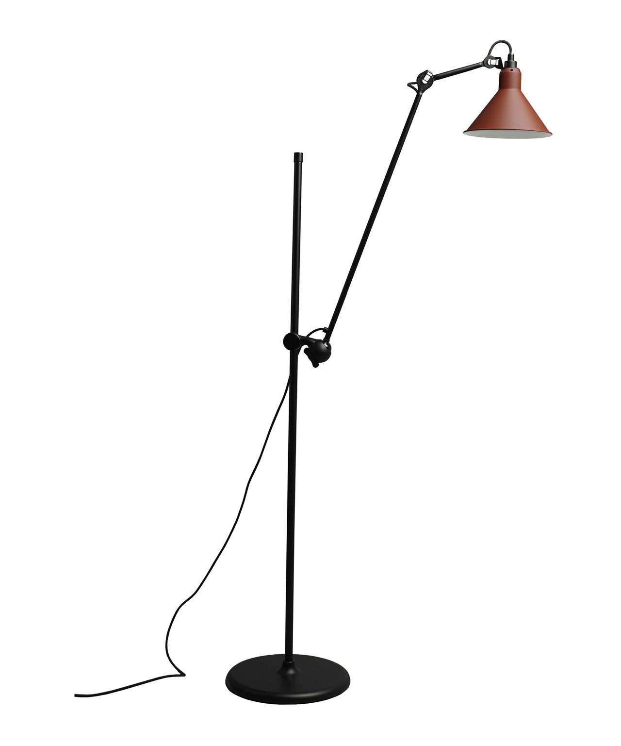 215 Gulvlampe Rød - Lampe Gras
