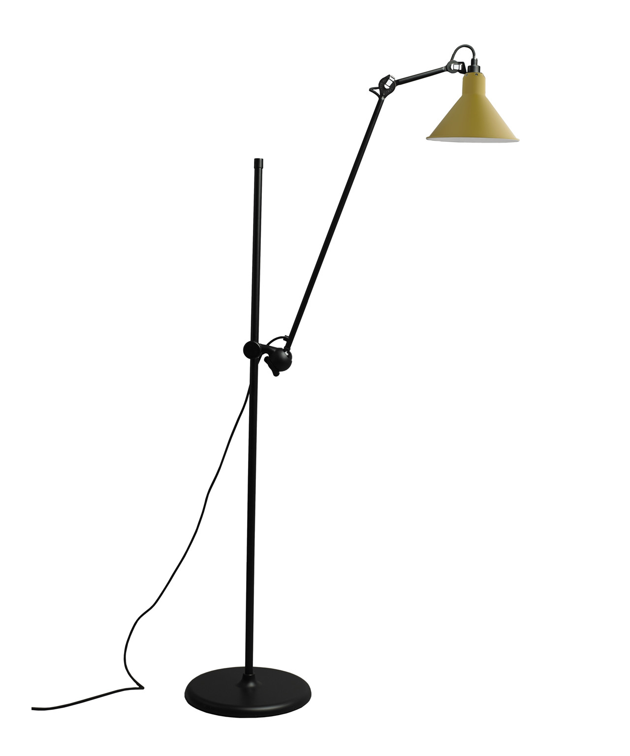 Image of   215 Gulvlampe Gul - Lampe Gras