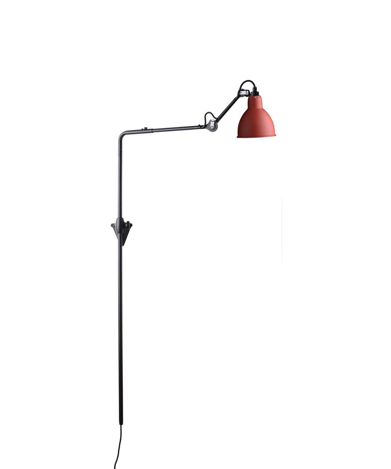 Image of   216 Væglampe Rød - Lampe Gras