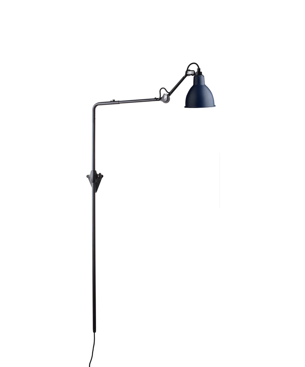 Image of   216 Væglampe Blå - Lampe Gras