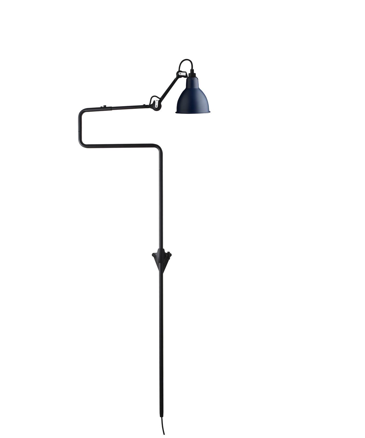 Image of   217 Væglampe Blå - Lampe Gras