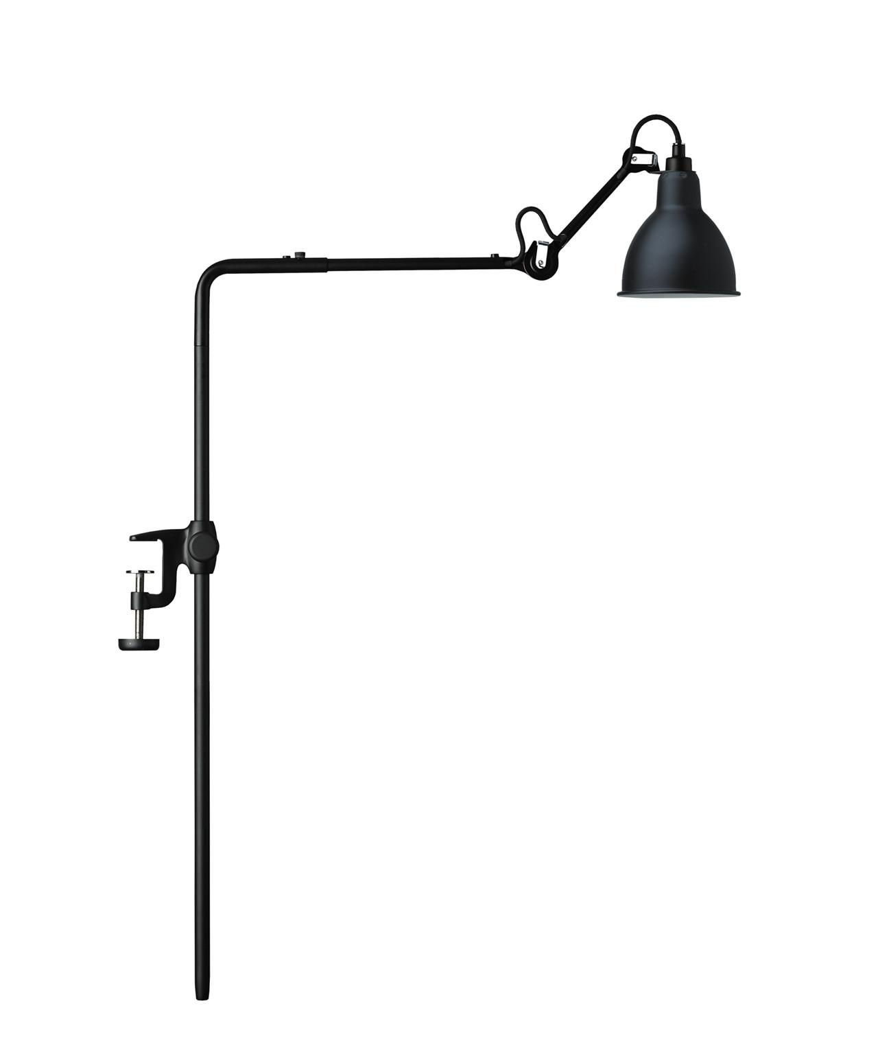 Image of   226 Bordlampe/Reol Lampe Sort - Lampe Gras
