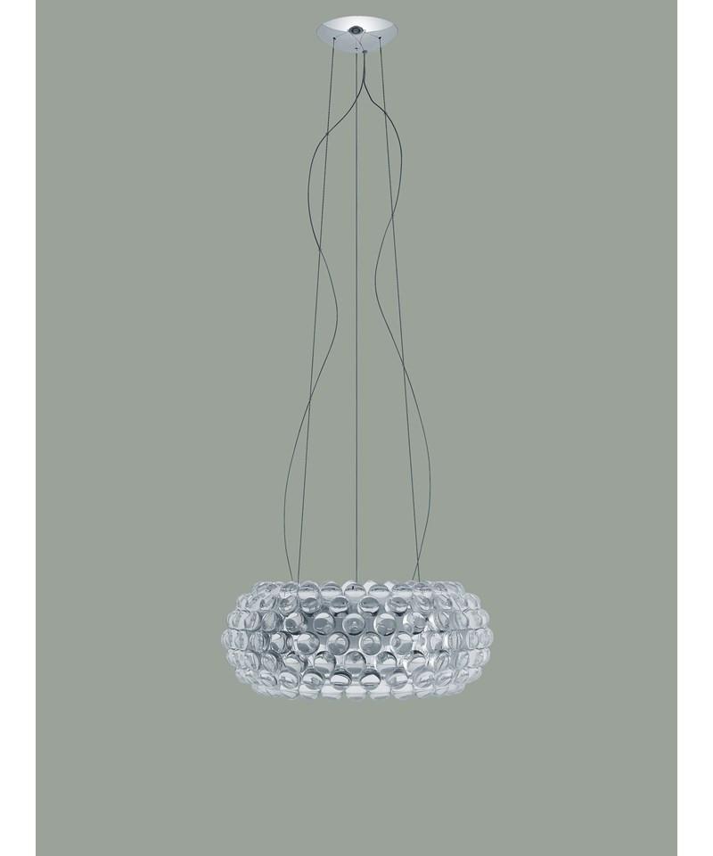 caboche medium led pendelleuchte transparent foscarini. Black Bedroom Furniture Sets. Home Design Ideas