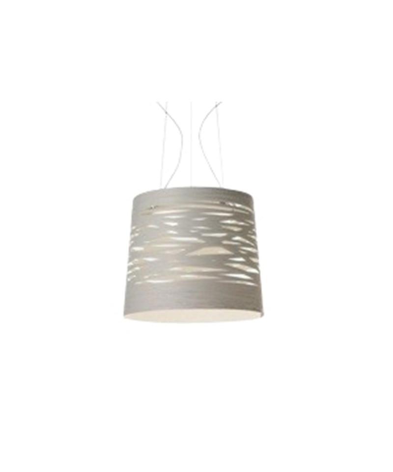 Tress Large Hvit LED Pendel - Foscarini