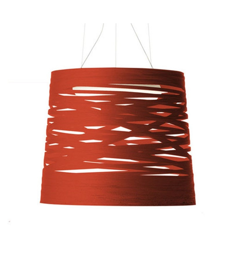 Tress Large Rød LED Pendel - Foscarini