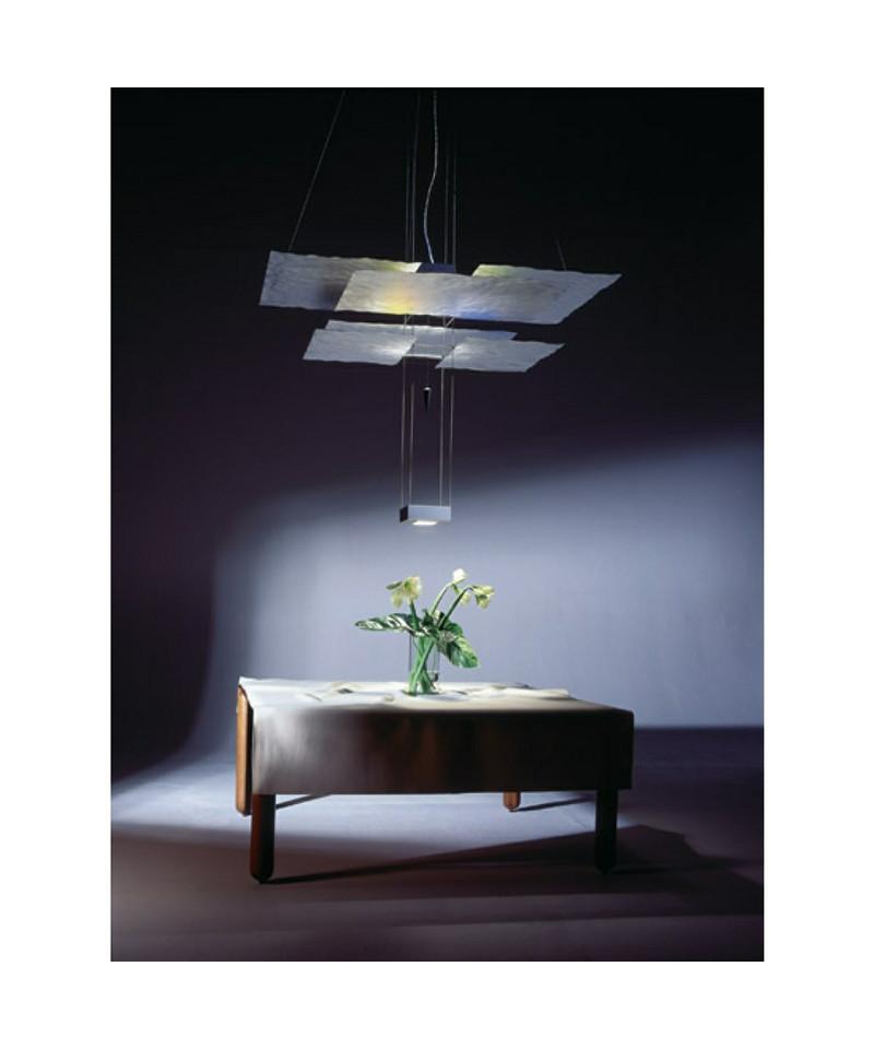 oh mei ma pendelleuchte wei 550cm ingo maurer. Black Bedroom Furniture Sets. Home Design Ideas