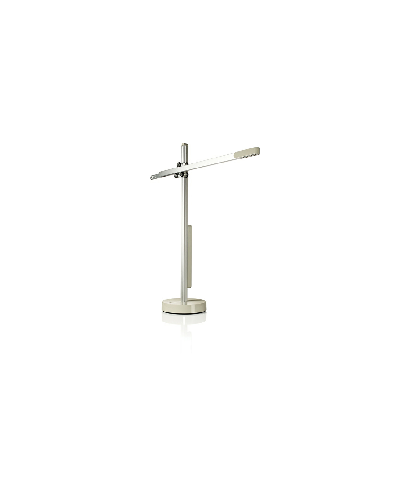 Csys bordlampe sølv/grå
