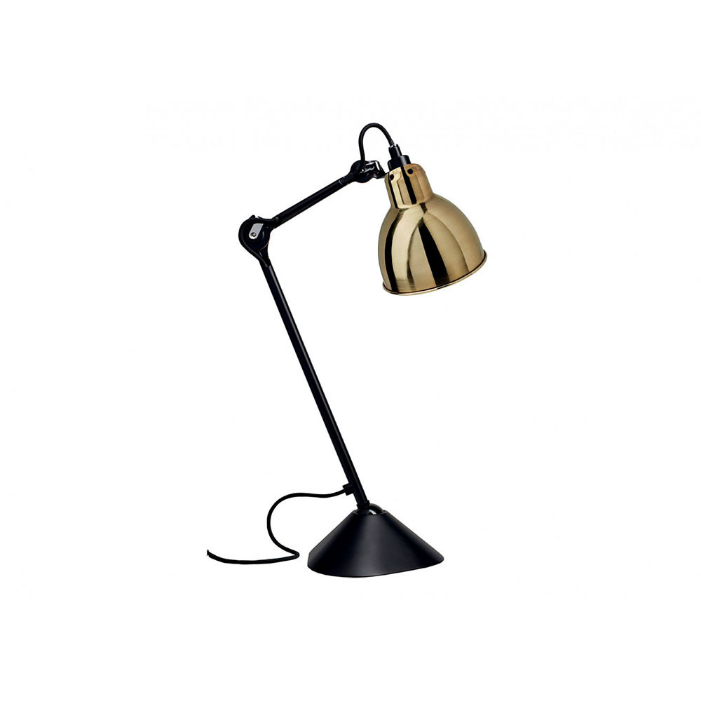 Image of   205 Bordlampe Sort/Messing - Lampe Gras