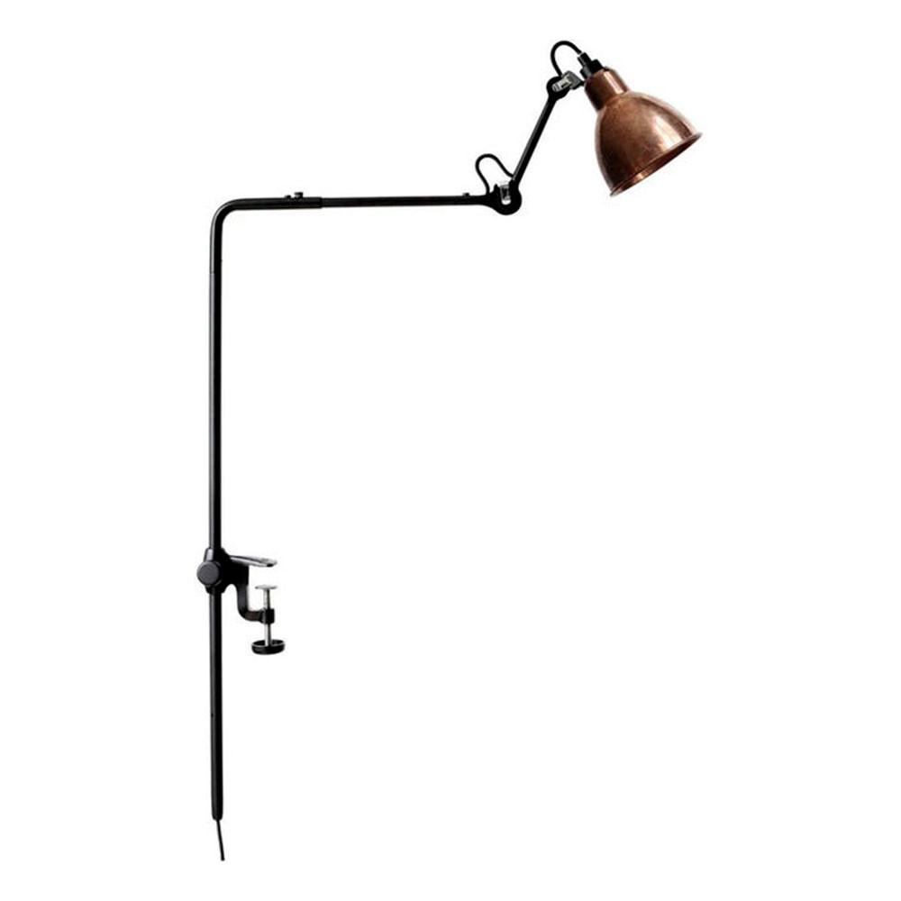 226 Bordlampe/Reol Lampe Sort/Hvid/Kobber - Lampe Gras