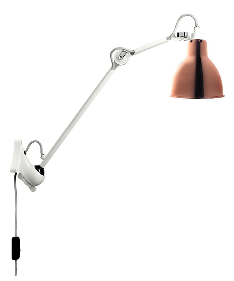 222 wandleuchte wei kupfer lampe gras. Black Bedroom Furniture Sets. Home Design Ideas