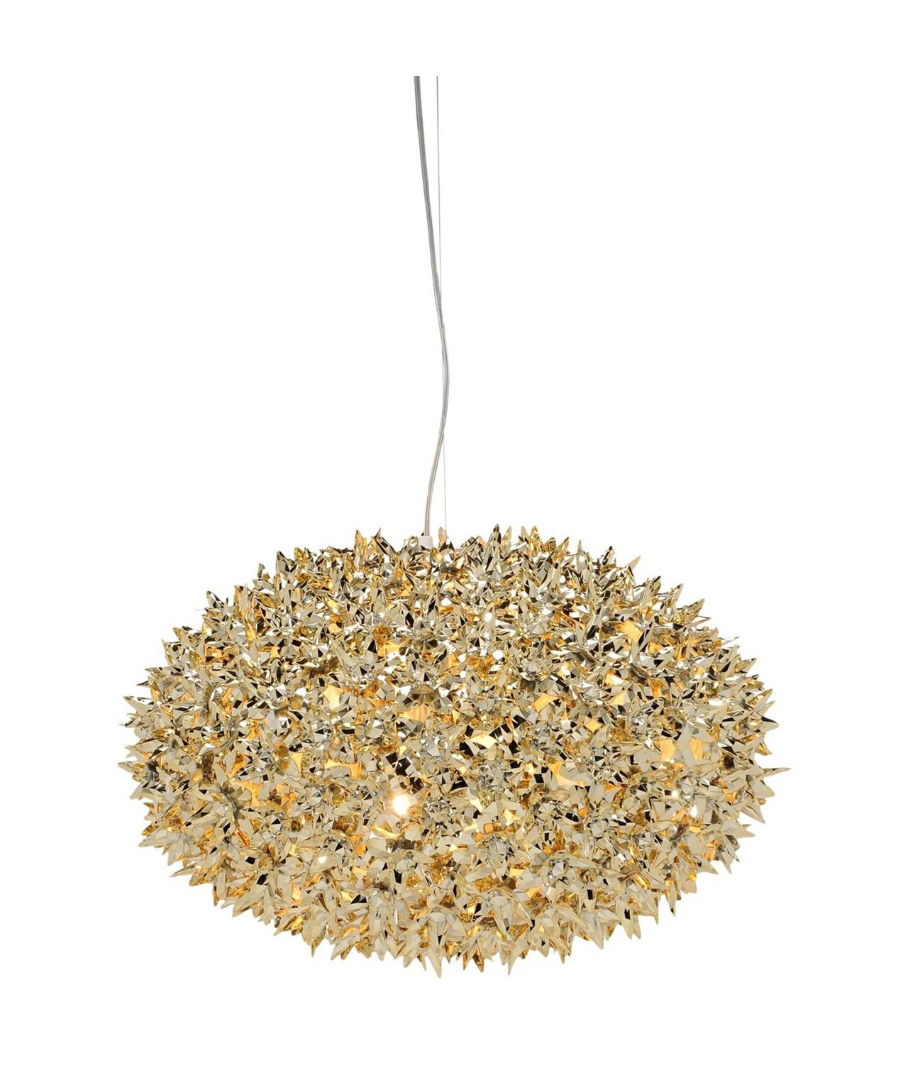 bloom pendelleuchte s1 gold kartell. Black Bedroom Furniture Sets. Home Design Ideas