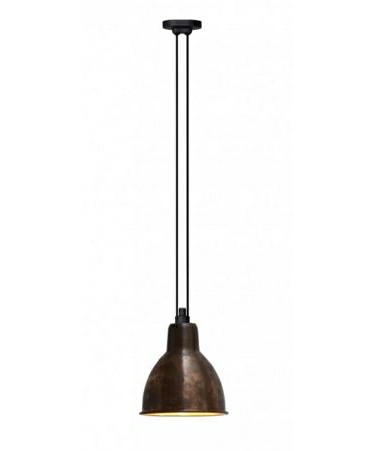 322 xl pendelleuchte rund roh kupfer lampe gras. Black Bedroom Furniture Sets. Home Design Ideas