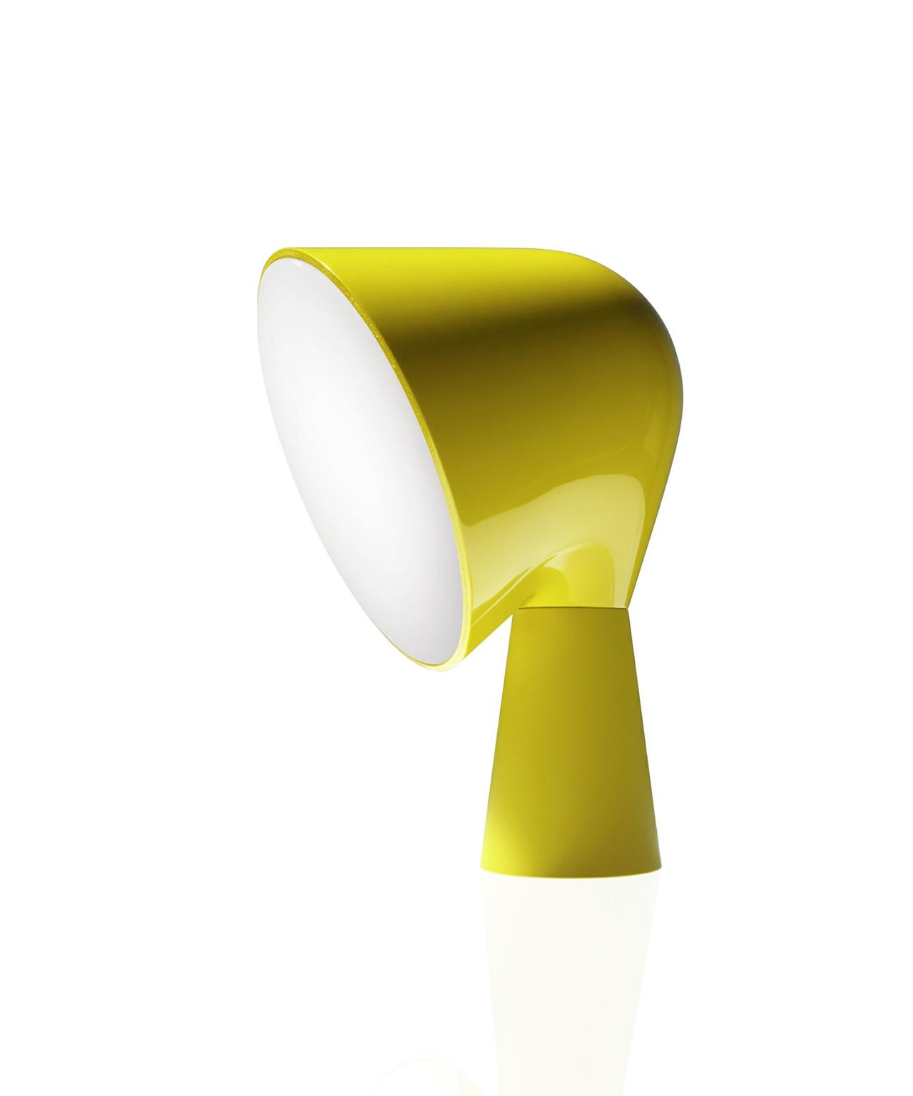 binic tischleuchte gelb foscarini. Black Bedroom Furniture Sets. Home Design Ideas