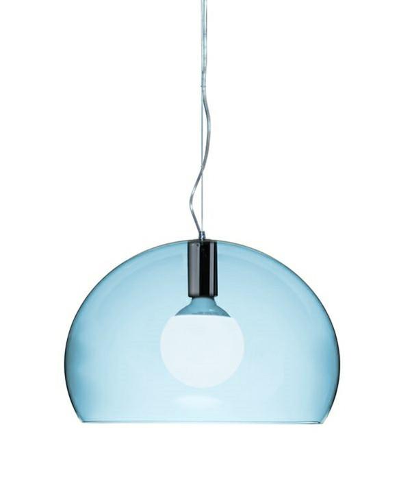 small fl y pendelleuchte himmel blau kartell. Black Bedroom Furniture Sets. Home Design Ideas