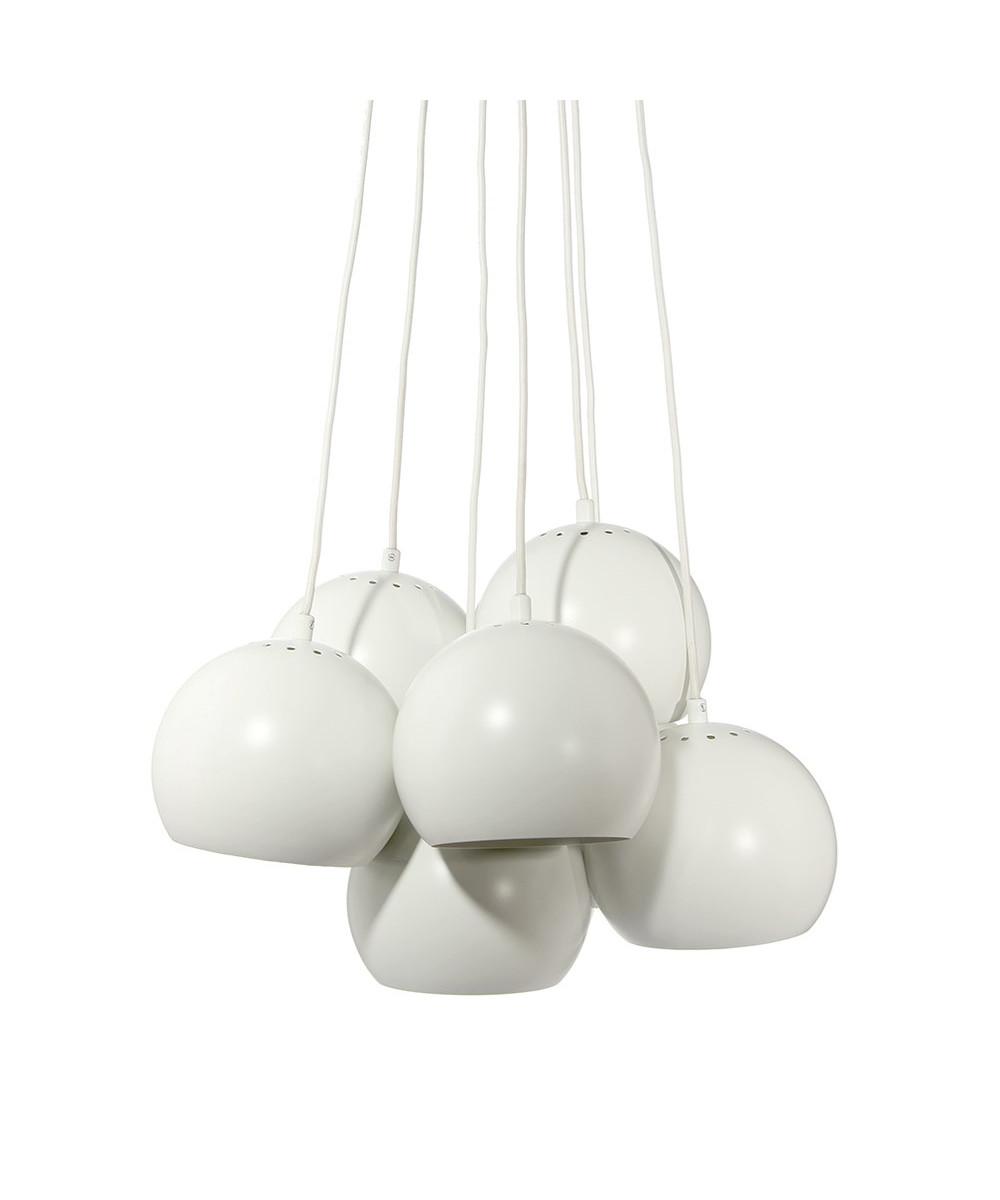 Image of   Ball Multi Pendel Mat Hvid - Frandsen