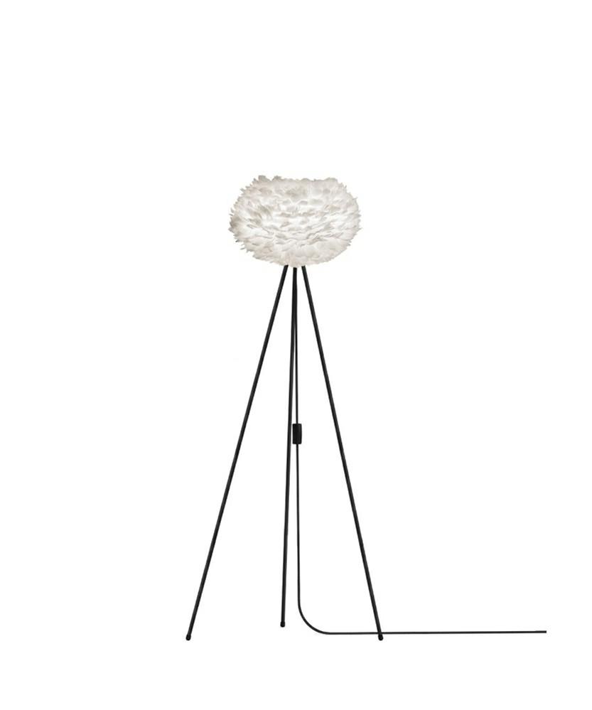 Eos Gulvlampe Medium Hvid/Sort - Umage