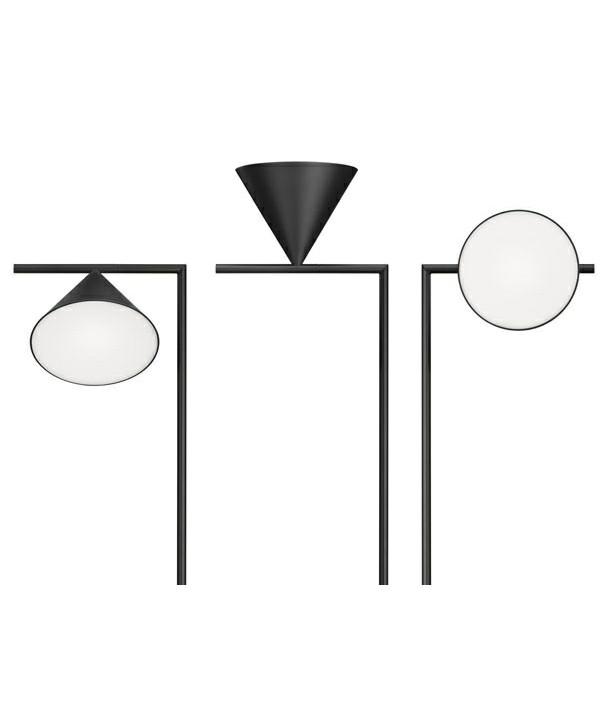 captain flint stehleuchte schwarz flos. Black Bedroom Furniture Sets. Home Design Ideas