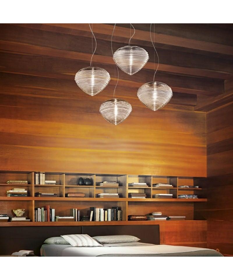 spirit 37 pendelleuchte kristall vistosi. Black Bedroom Furniture Sets. Home Design Ideas