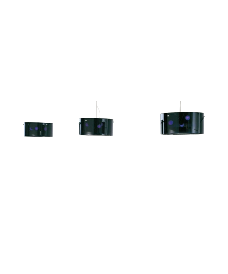 Thor pendel ø42 sort/transparent