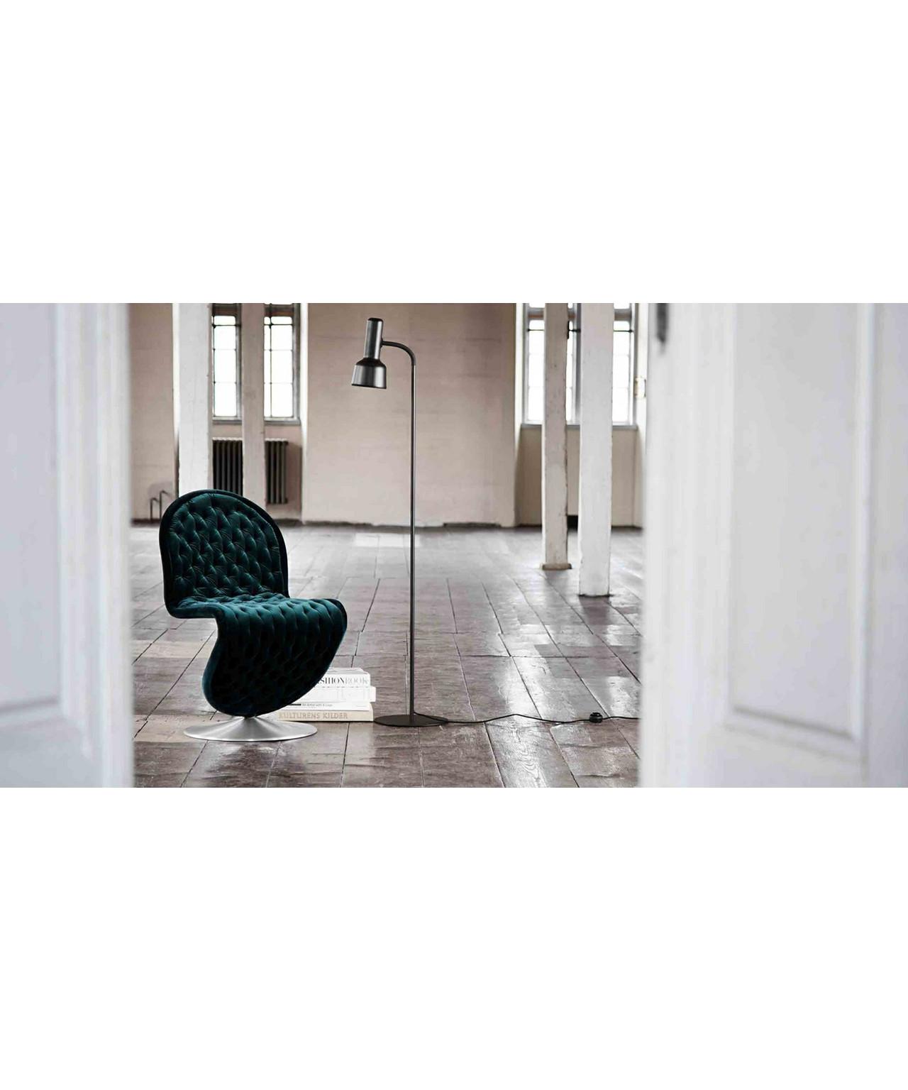 Flex Gulvlampe Messing/Sort - Frandsen
