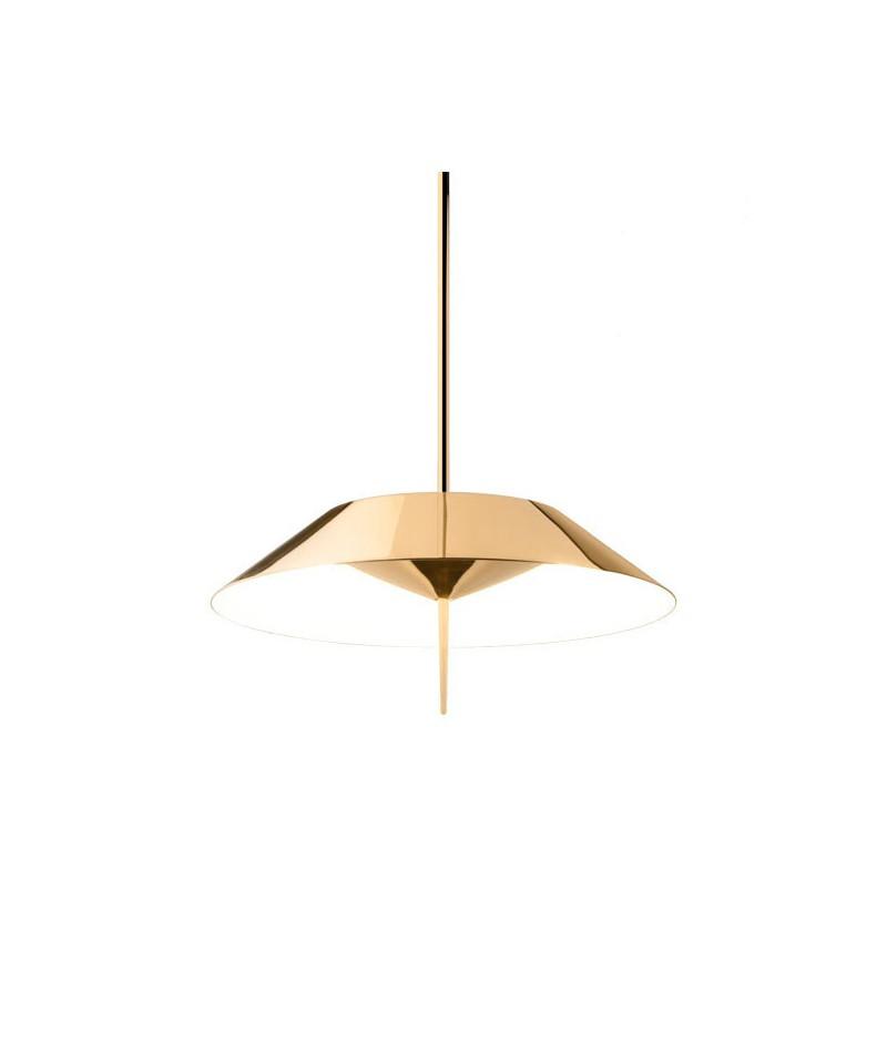 mayfair pendelleuchte matt gold vibia. Black Bedroom Furniture Sets. Home Design Ideas