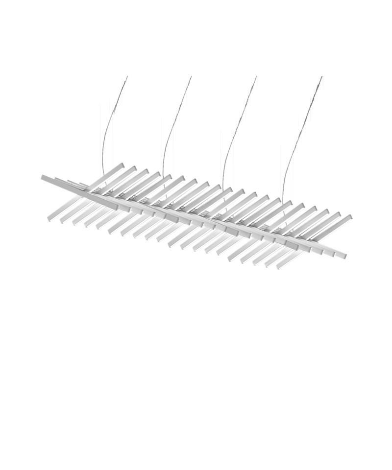 Rythm horisontal pendel 189 cm mat off-white