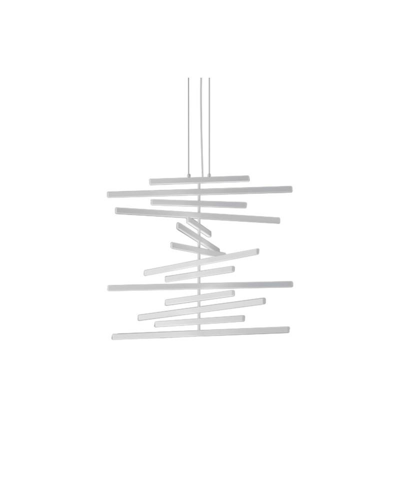 Rythm vertical pendel mix 52,5 cm mat off-white