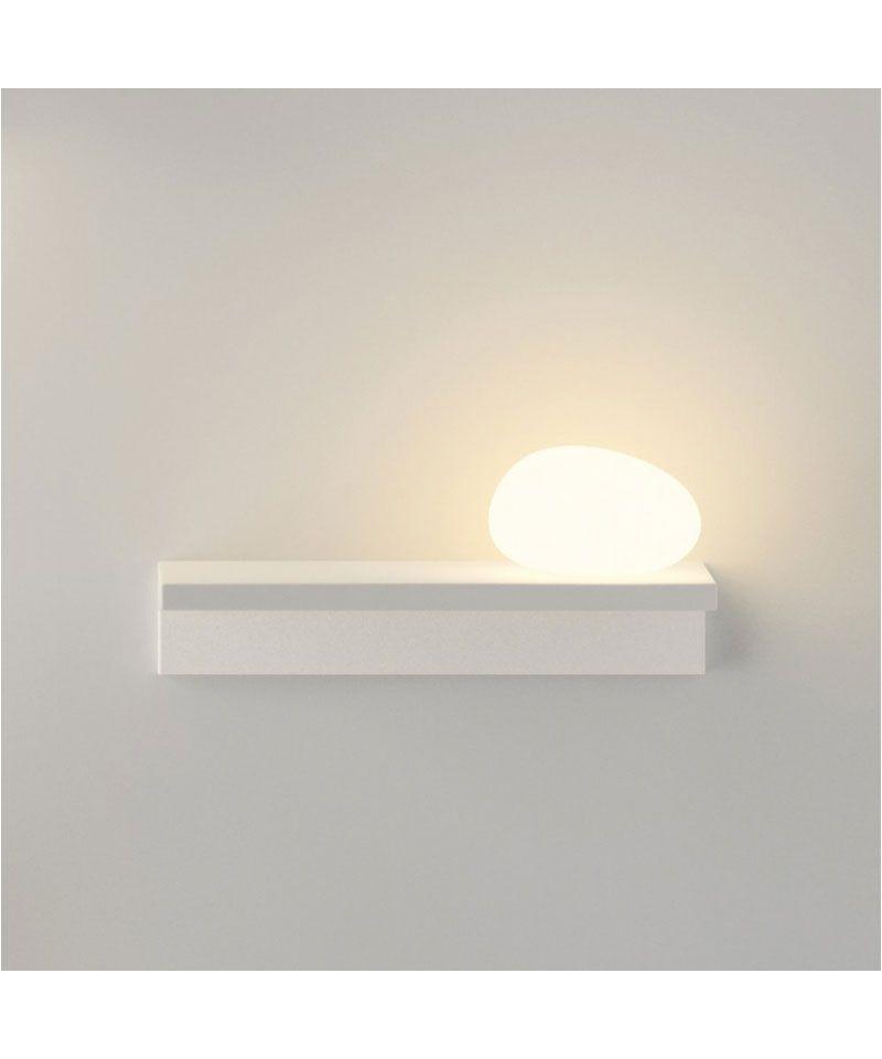 Suite væglampe 6041 højre mat hvid
