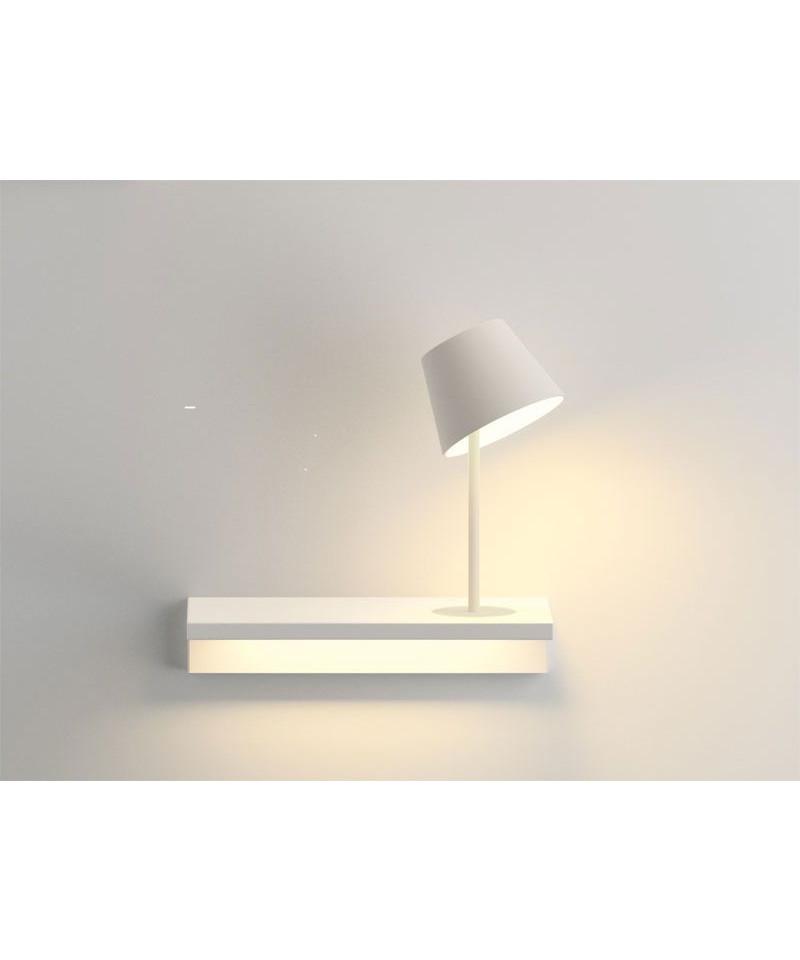 Suite væglampe 6046 højre mat hvid