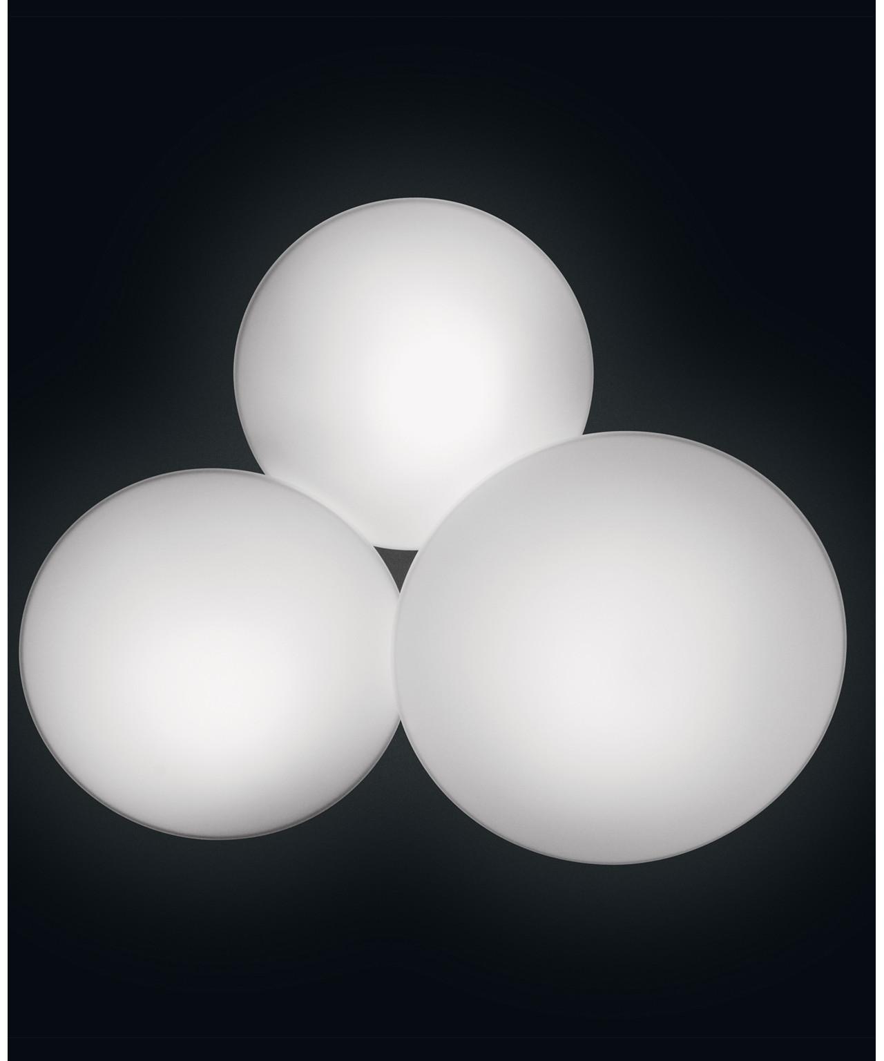 Puck 1 væglampe/loftlampe ø27,2 led