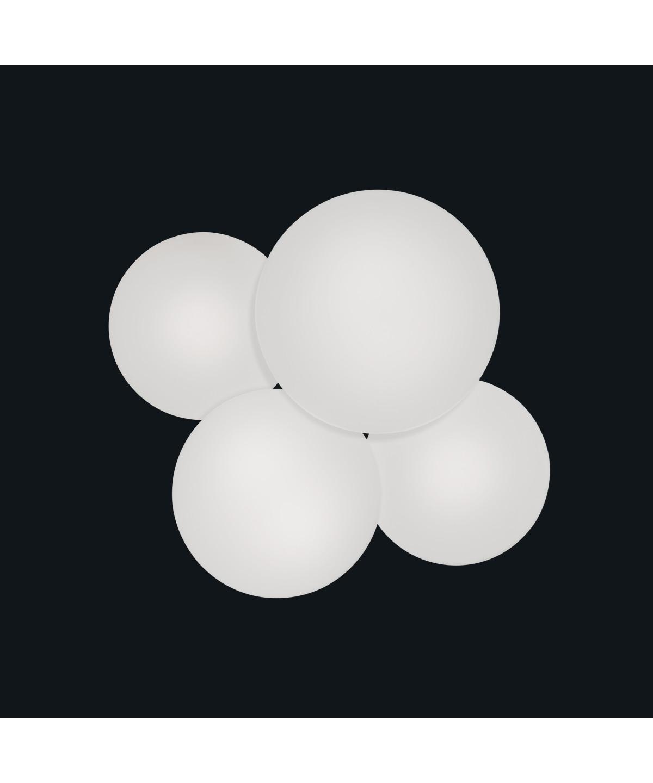 Puck 4 væglampe/loftlampe led