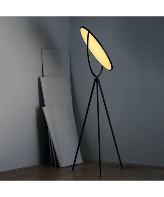 superloon gulvlampe sort flos. Black Bedroom Furniture Sets. Home Design Ideas