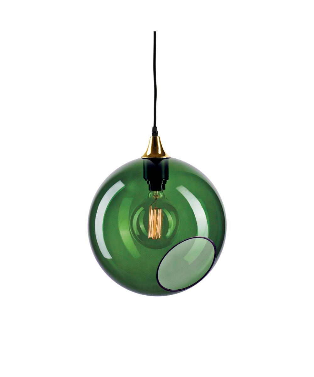 Ballroom XL Pendel Army m/Guld Sokkel - Design By Us