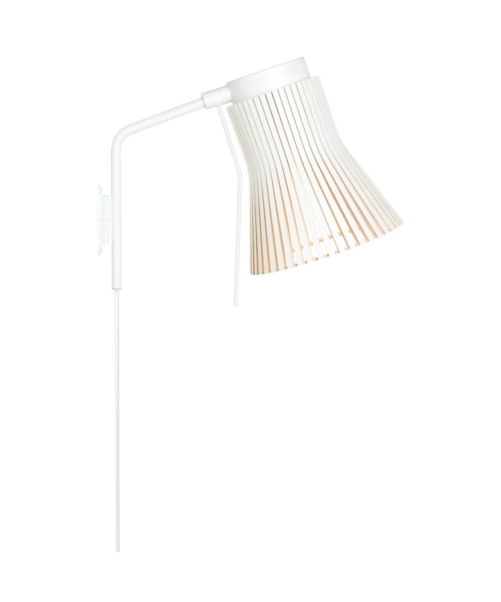 Petite 4630 væglampe hvid
