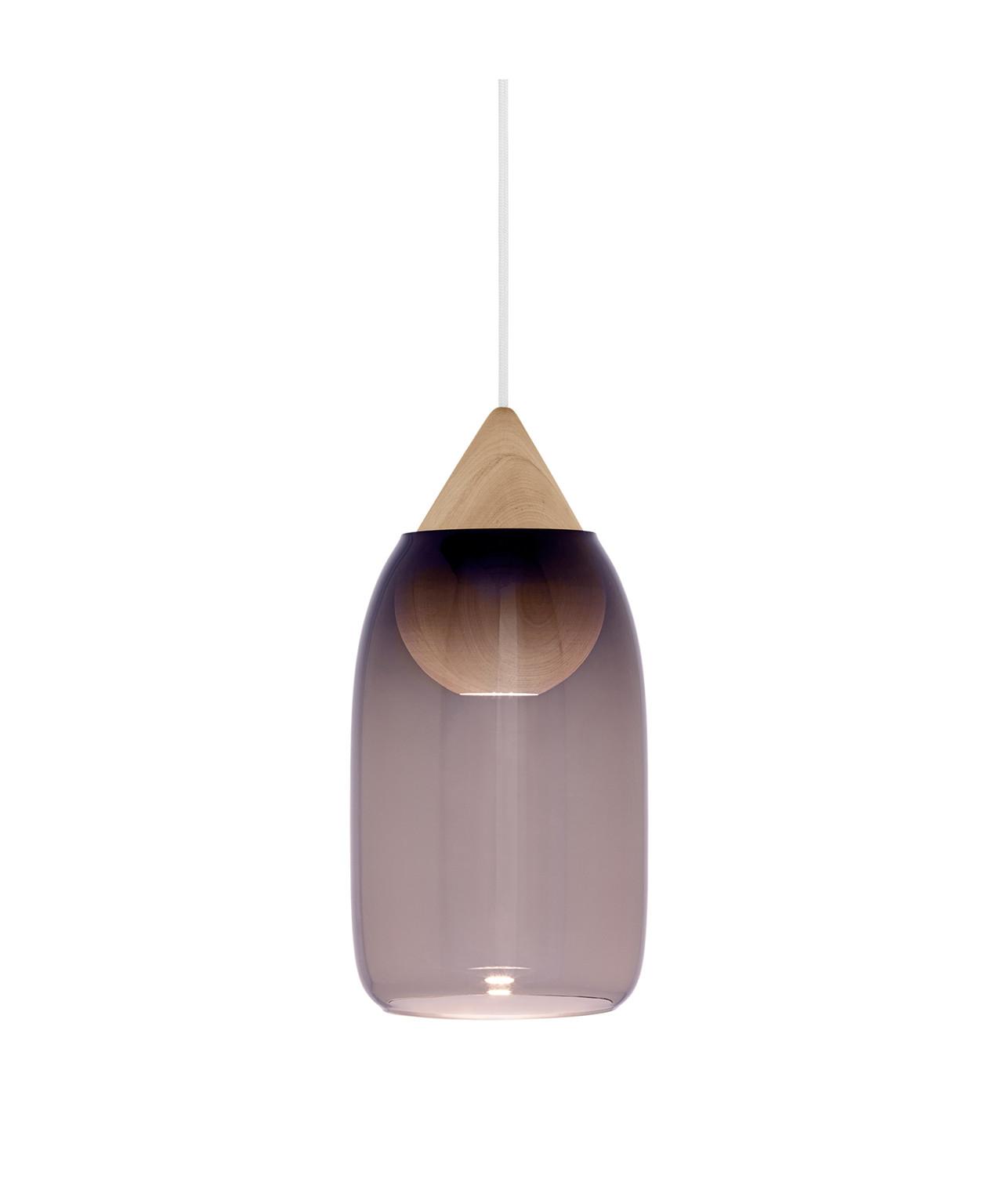 Liuku pendel drop violet gradient
